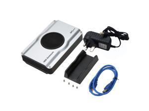 3.5  2.5  SATA SSD USB 3.0 IDE Hard Disk Drive HDD Enclosure with Cooling Fan UK Plug