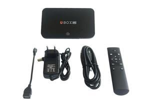 Android 4.4 TV Box Quad Core Smart TV Box Mini PC Streaming Media Player 2GB 16GB Mali-T764 GPU Built-in MIC BT 4.0 Dual Wifi XBMC TV Receiver Airpaly Miracast DLNA