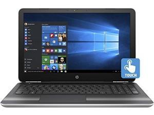 "HP Pavilion 15z Touch 15.6"" Laptop in Natural Silver, AMD A10-9600P Quad-Core, Radeon R5 Graphics, Windows 10 Home, Full HD IPS Touchscreen Display, Backlit Keys, 256GB Performance SSD, 16GB DDR4 RAM"