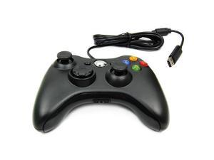 Black USB Wired Game Controller Game Pad For  Xbox 360