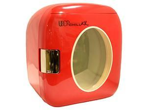 Uber Appliance UB-XL1 Uber Chill Retro Personal Mini Fridge for Bedroom, Office or Dorm, 12-Can/9-Liter Capacity