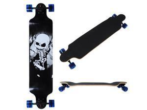 "Professional Longboard Longer 41x 9"" Cruising Board Speeding Skatebaord Canadian maple Deck"