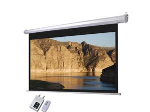 "100"" 16:9 HD Electric Automatic Motorized Projection Projector Screen + Remote"