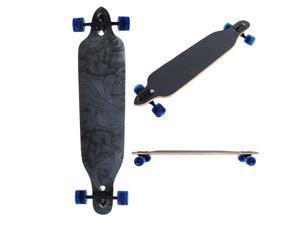 """Pro Longboard Complete 41x 9.75"""" Longer Cruising Board Speed Skatebaord Downhill Canadian maple"""