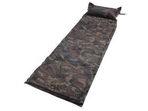 Yescom Camoflage Self Inflate Air Mattress Pad Bed Pillow Camping Hiking Picnic