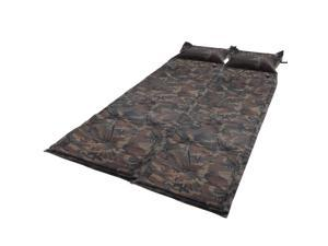 Yescom 2x Camoflage Self Inflate Air Mattress Pad Bed Pillow Camping Hiking Picnic