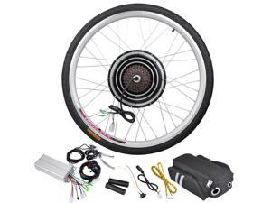 "36V 500W 26"" Rear Wheel Electric Bicycle Motor Engine Kit E-Bike Cycling Hub Conversion"