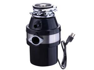 1 Horse Power 3200 RPM Continuous Feed Garbage Disposal Restaurant Home Kitchen Food Waste