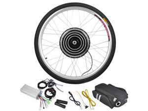 "36V 500W 26"" Front Wheel Electric Bicycle Motor Engine Kit E-Bike Cycling Hub Conversion"