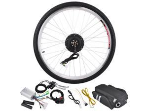 "36V 250W 26"" Front Wheel Electric Bicycle Light Motor Engine Cycling Hub Conversion Kit"