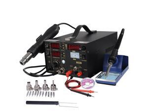 3in1 853D Hot Air Rework Soldering Station Gun Solder Iron SMD DC Power Supply