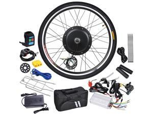 "48V 1000W 26"" Front Wheel Electric Bicycle Hub Motor Engine Speed Control Conversion Kit"