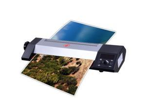 """13"""" A3 Thermal Laminator Hot Cold Laminating Machine 4 Roller System Pouch Photo"""