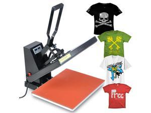 "High Pressure 16x20"" Digital Heat Press Transfer Machine Sublimation T-shirt"