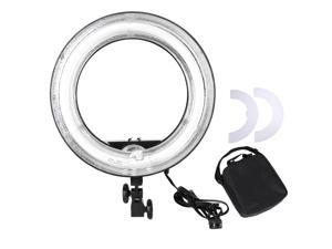 "45W Fluorescent 14"" Dimmable Ring Light Photo Video Studio Portrait Light w/ Bag"