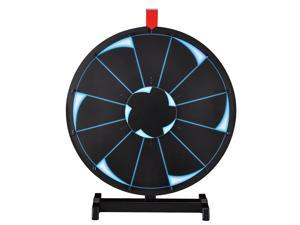 """WinSpin™ 18"""" Tabletop Editable Prize Wheel 12 Slot Spinning Game with Dry Erase Tradeshow"""