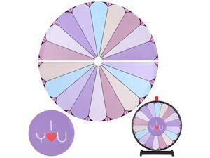 """WinSpin™ 8 Pcs 24"""" Prize Wheel Template Background Replacement 8 Holiday Christmas"""