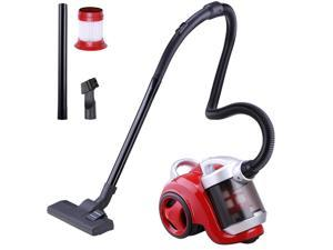 1300W 3L Electric Bagless Vacuum Cleaner Sweeper Dust Collector Red