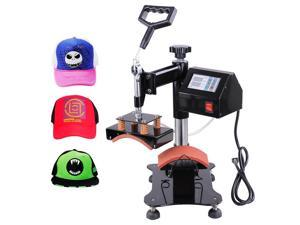 "5-1/2""x3"" Iron Cap Heat Press Machine Baseball Hat Digital Transfer Sublimation Machine"