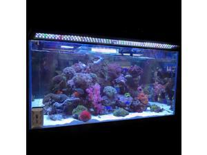 "48"" Multi-Color 156 LED Bulbs Aquarium Light Freshwater Marine 36""- 43inches Fish Tank Lamp"