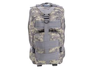 30L Hiking Camping Outdoor Sport Backpack 600D Oxford Travel Military Bag ACU Camo