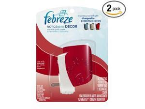 Febreze Noticeables Decor Warmer and Cover-Red
