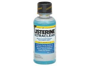 Listerine Ultraclean Mouthwash, Artic Mint, 3.21 OZ (PACK OF 3)