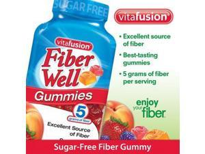 "vitafusion Fiber Gummies, 220 Count ""Sugar Free"""