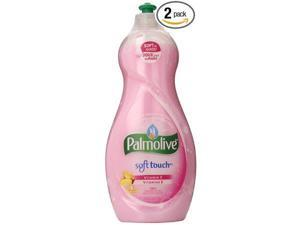 Palmolive Ultra Soft Touch with Vitamin E Dish Liquid, 25-Ounce (Pack of 2)