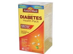 Nature Made Daily Diabetes Health Pack - 60 count