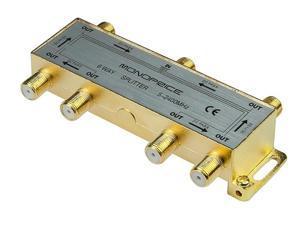 Monoprice 10016 PREMIUM 6 way Coax Cable Splitter