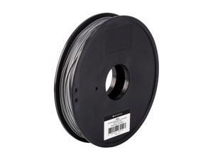 MP Select ABS Plus+ Premium 3D Filament, 0.5kg 1.75mm, Silver