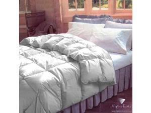organic cotton  233 TC 700 loft summer fill  California King size 35 oz Hungarian white goose down comforter