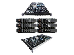 DELL PowerEdge R610 6 Bay Server2 x 2.53Ghz E5540 Quad Core 24GB 6 x 500GB 7.2K SATA 2 x PSU PERC 6/i DVD-ROM iDRAC Express Rails Windows Server 2008 R2 Evaluation Edition