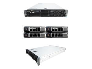 DELL PowerEdge R710 8 Bay Server2 x 2.26Ghz L5520 Quad Core 48GB 4 x 300GB 10K SAS 2 x PSU PERC 6/i DVD-ROM iDRAC Express iDRAC Enterprise Windows Server 2008 R2 Evaluation Edition