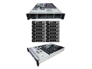DELL PowerEdge R510 12 Bay Server2 x 2.40Ghz E5530 Quad Core 32GB 12 x 146GB 15K SAS 2 x PSU PERC H700 with 512MB Cache iDRAC Express iDRAC Enterprise Rails Windows Server 2008 R2 Evaluation Edition