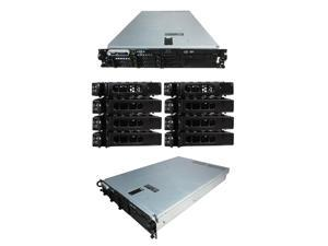 DELL PowerEdge 2950 Gen III 8 Bay Server2 x 3.00Ghz X5450 Quad Core 32GB 8 x 146GB 10K SAS 2 x PSU PERC 6/i DVD-ROM DRAC5 Windows Server 2008 R2 Evaluation Edition