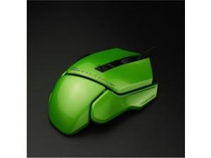 JamesDonkey Wired 007 Pro Modular Programmable Laser Gaming Mouse Avago 9800 OMRON Switch-black/green