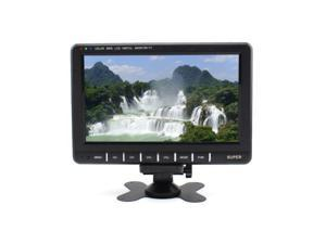 Televisions 9.8inch TFT LCD Color Portable TV With Wide View Angle Support SD/MMC Card USB Flash Disk