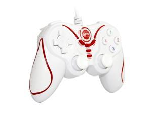 Wireless Gamepad Bluetooth Gaming Controller for Sony Playstation 3 PS3 (White+Red)