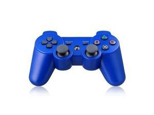 Bluetooth Wireless Dualshock PS3 Remote Game Gaming Controller Gamepad Consoles Joypad Joystick for Sony Playstation III with 6-Axis And Dual-Vibration 