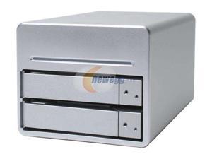 SANS DIGITAL MN2L Diskless System 2 Bay Network Attached Storage NAS Enclosure