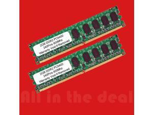 4GB Kit DDR2 PC2-6400 800 MHZ 2GB X 2 DESKTOP 240 PIN 4 GB Dual Channel Memory (not for Apple Mac)