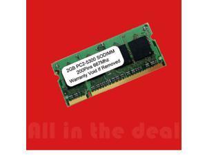 2GB SODIMM PC 5300 667 2 GB 667MHz SDRAM DDR2 2GB 200pin LAPTOP RAM PC2-5300