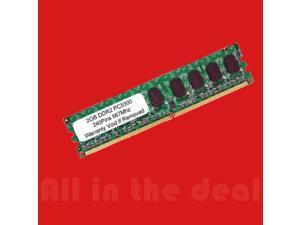 2GB DDR2 Low Density PC2-5300 667MHz 240 Pin DELL HP IBM Desktop Memory RAM