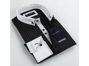 Max Lauren Men's Black Dress Shirt