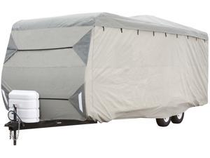 Expedition Travel Trailer Cover - Gray (Fits 14'-16' Long)