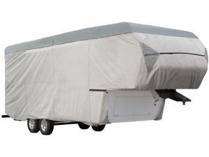 Expedition Fifth Wheel Trailer Cover - Gray (Fits 26'-29' Long)