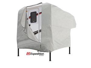 Truck Camper Cover - Gray (Fits 8'-10' Long)