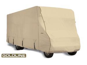 "Goldline Class C RV Cover - Tan  - Fits 413""L x 102""W x 110""H"